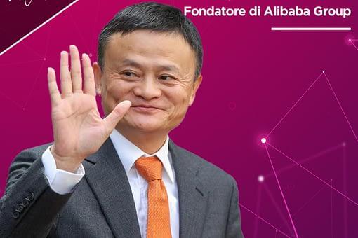 Jack Ma da semplice professore d'inglese a uno degli uomini più ricchi del pianeta grazie al suo portale di e-commerce Alibaba.