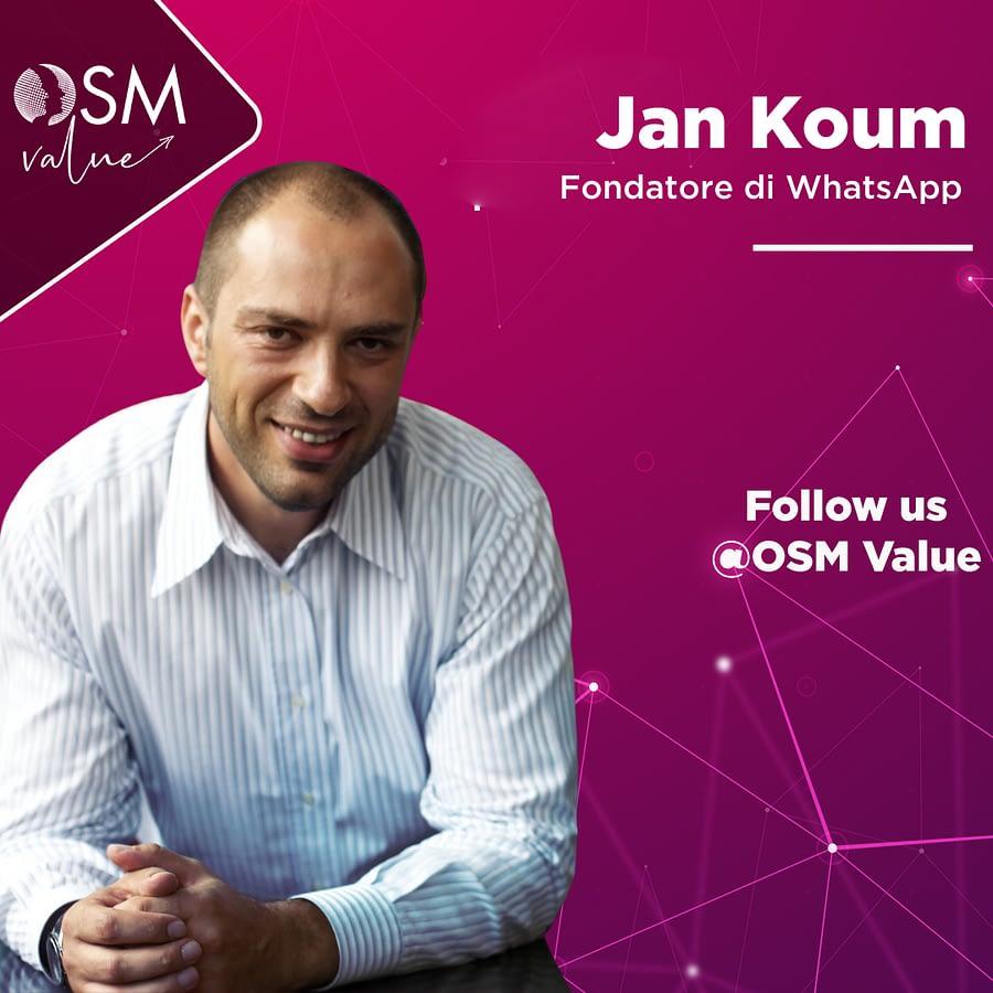 Jan Koum, il quarantacinquenne che ha rivoluzionato l'impero della comunicazione. Parliamo di Whatsapp, applicazione di messaggistica istantanea creata nel 2009 che a oggi fa parte del gruppo Facebook Inc.