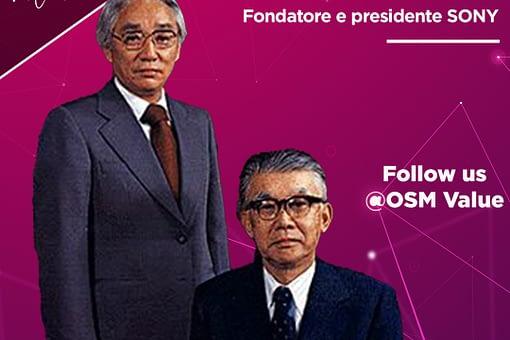 Masaru Ibuka l'inventore geniale che ha cambiato radicalmente l'industria elettronica giapponese, fino a farla diventare il colosso tecnologico