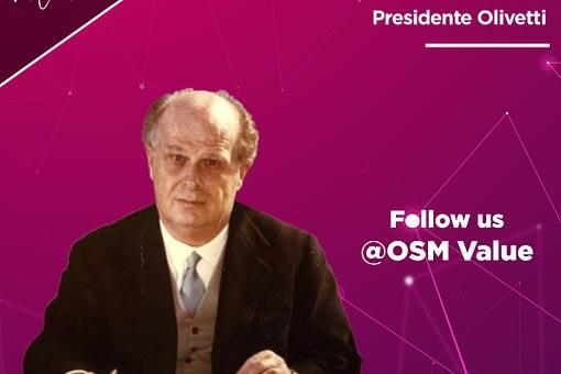 Adriano Olivetti l'ingegnere chimico che ha consacrato l'omonima azienda di famiglia nell'olimpo dei grandi