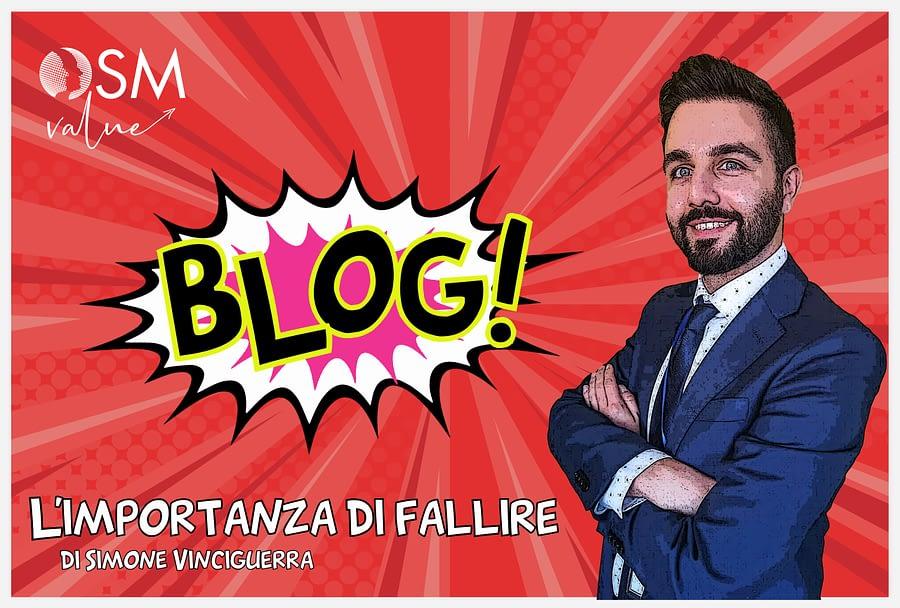 Leggi l'ultimo articolo del nostro blog. Simone Vinciguerra, consulente senior OSM, ci parla dell'importanza di fallire