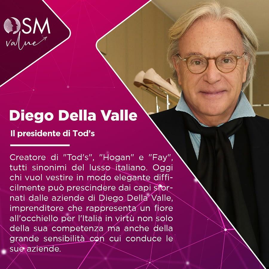 Diego Della Valle: il Ceo e fondatore di Tod's
