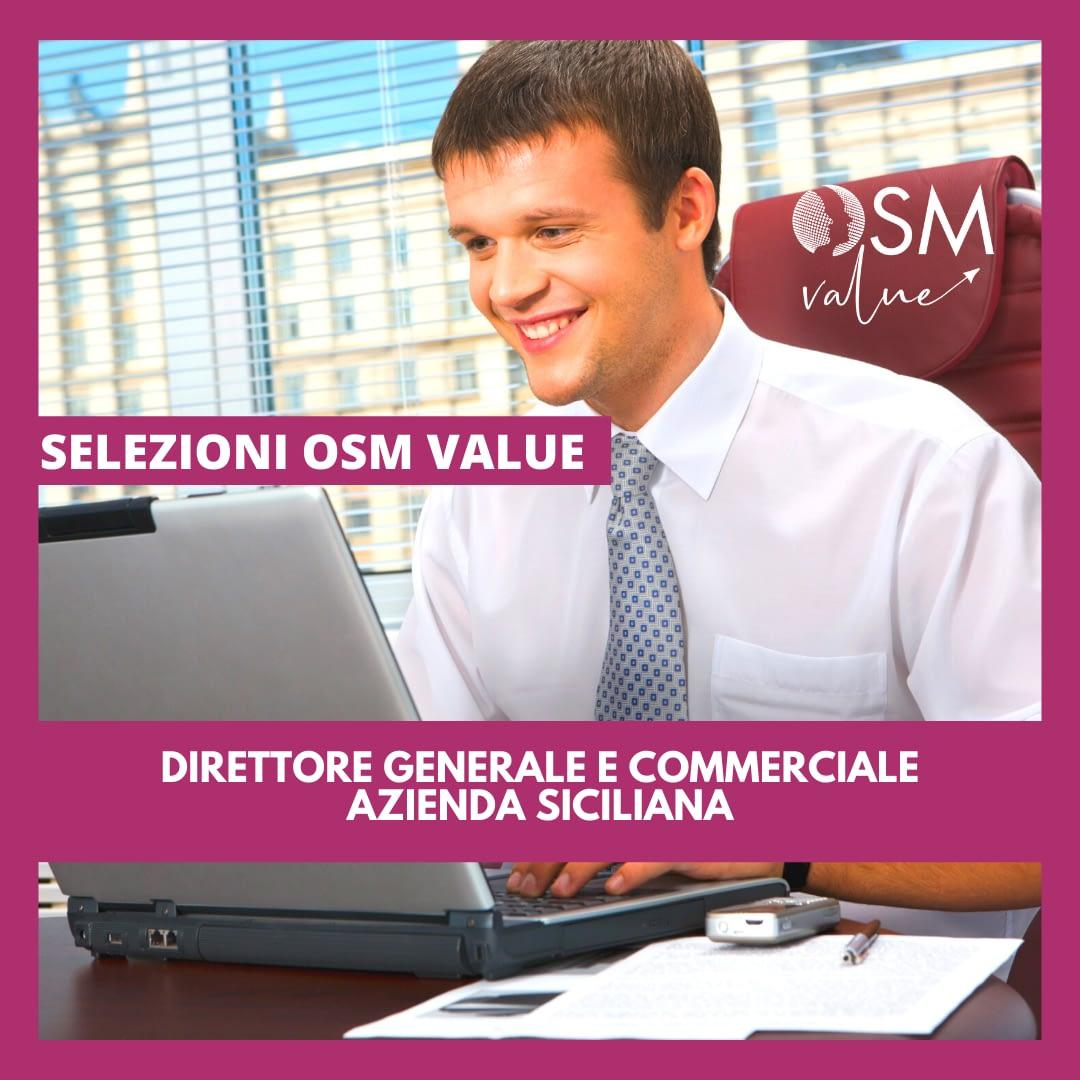 Direttore Generale e Commerciale – Azienda Siciliana