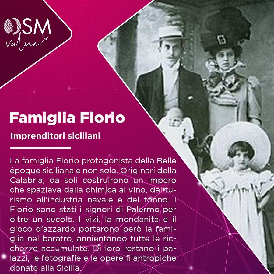 La famiglia Florio, i mitici imprenditori siciliani