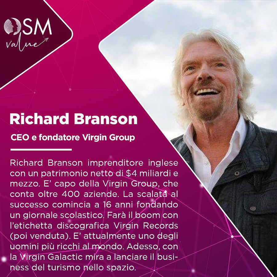 Sir Richard Charles Nicholas Branson: il fondatore della Virgin Group